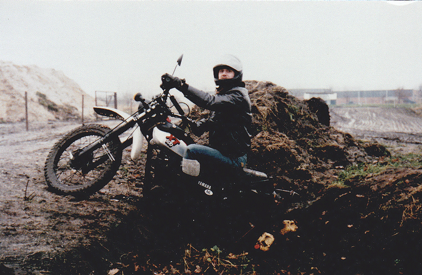 Off-road-met-de-XT500