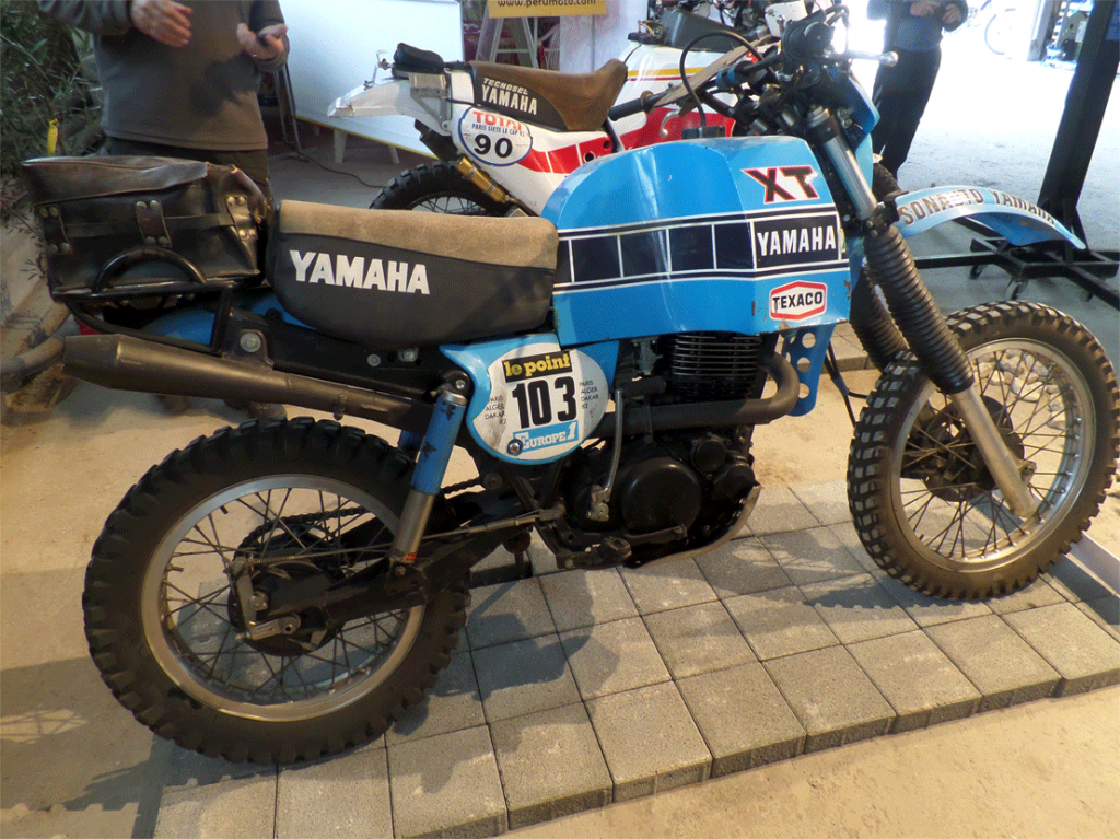 Rally model Yamaha XT500