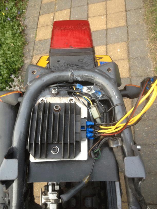 Spanningsregelaar voor XT600E 3TB