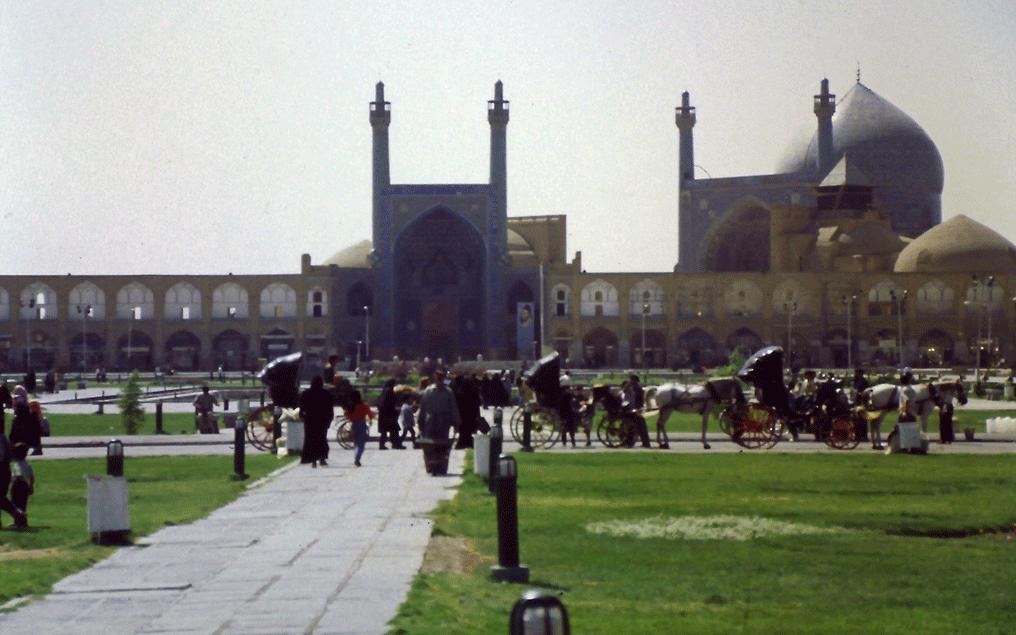 Isfahan is half the world
