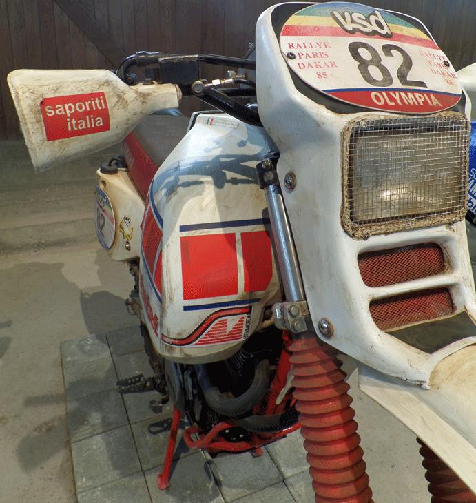 Yamaha Ténéré uit de Paris Dakar