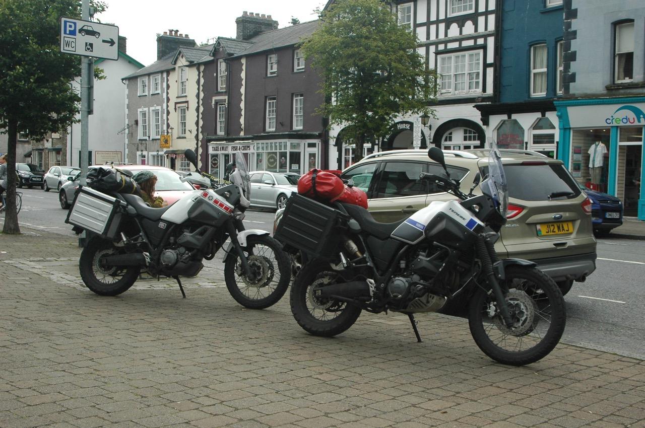 vakantie met de motorfiets