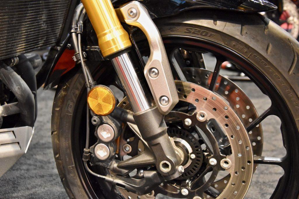 Vering motorfiets