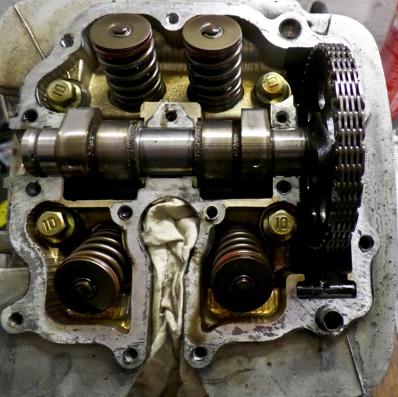 cilinderkop XT600
