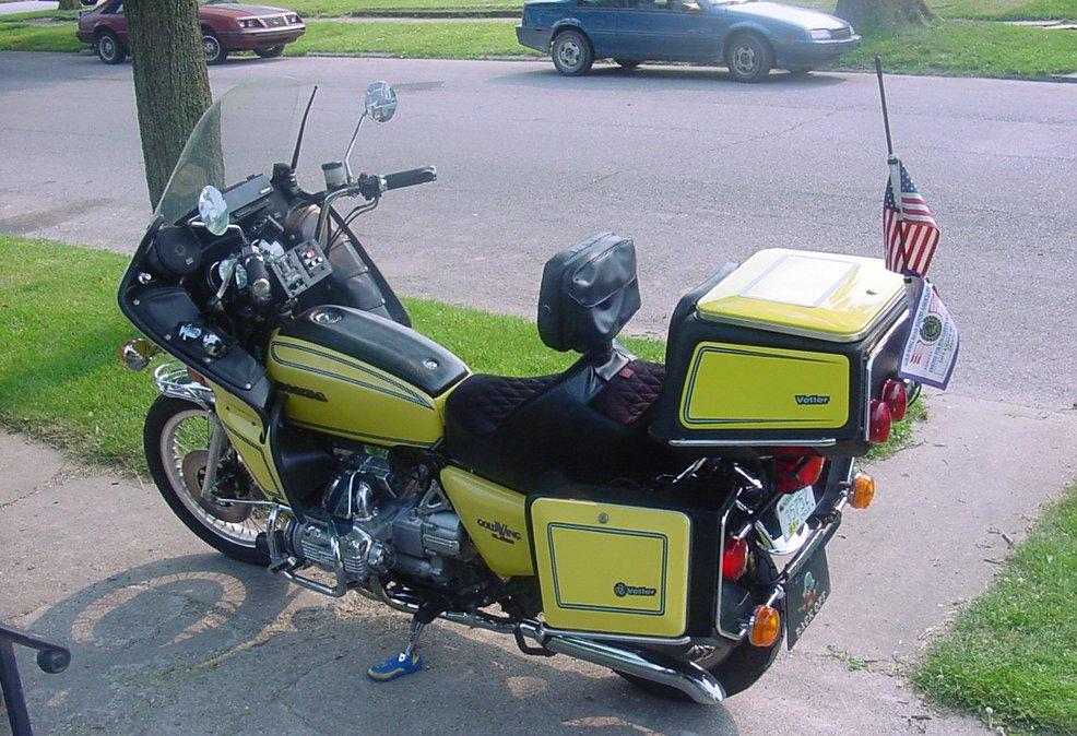 Karakterloze motorfiets