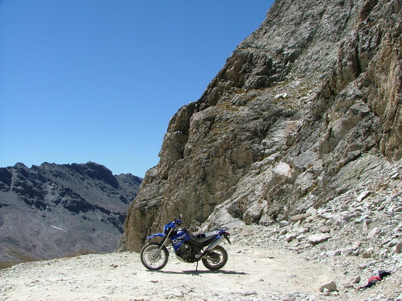 Motor rijden in de Alpen