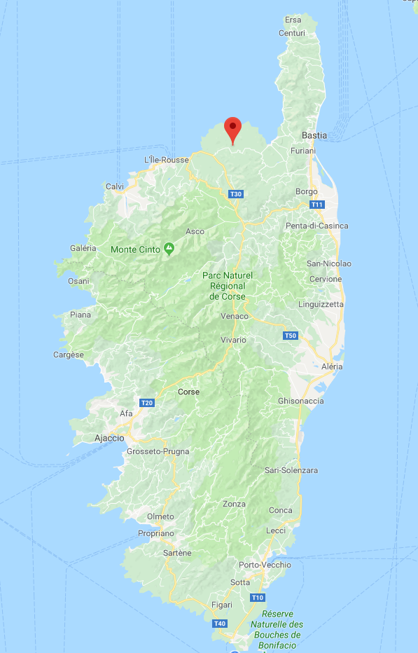 Motorvakantie op Corsica
