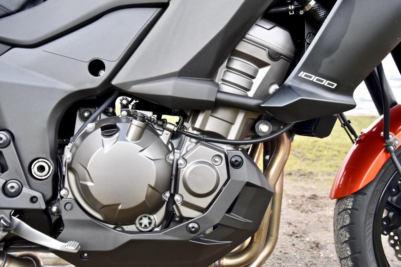 Viercilinder motorfiets
