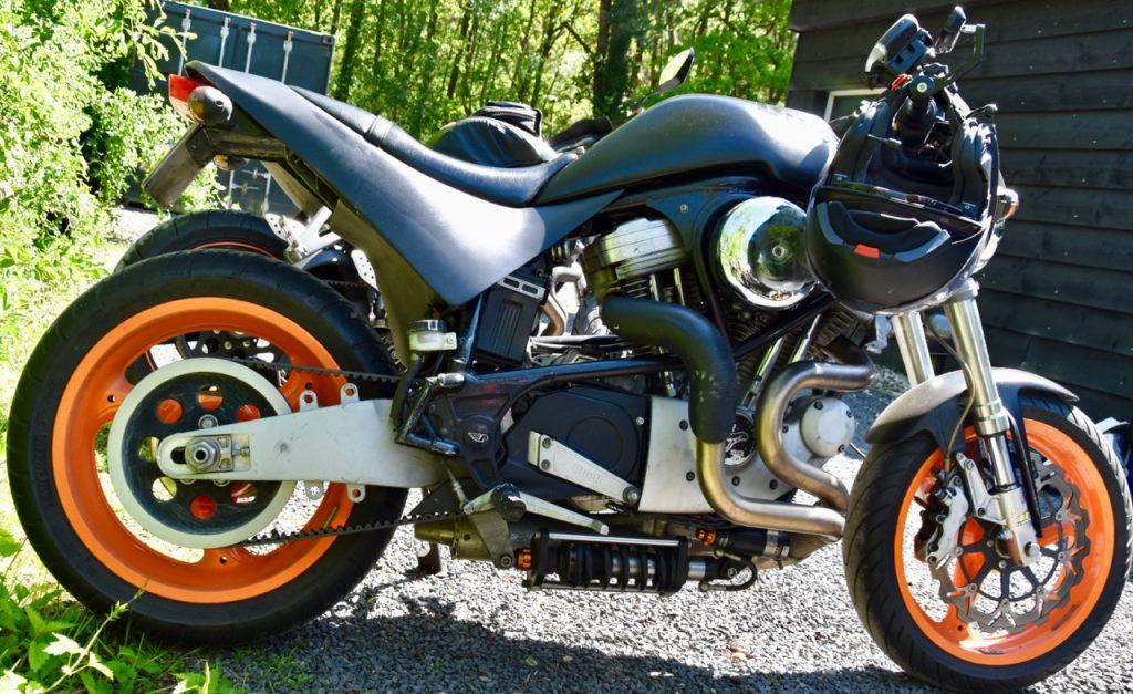Wegligging van motorfietsen