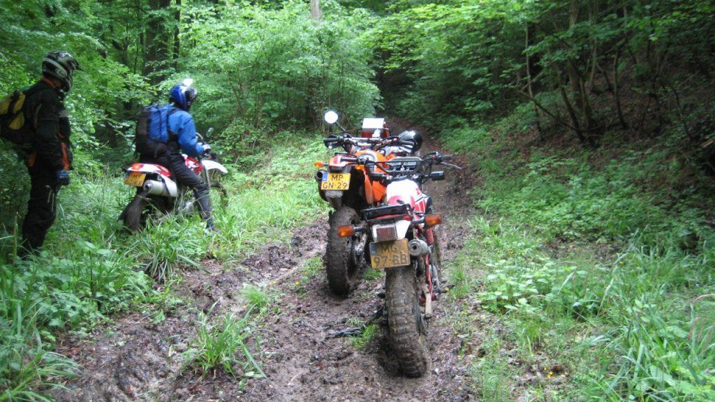 motorfiets avontuur