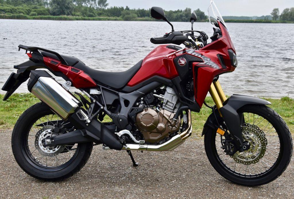 De Adventure motorfiets