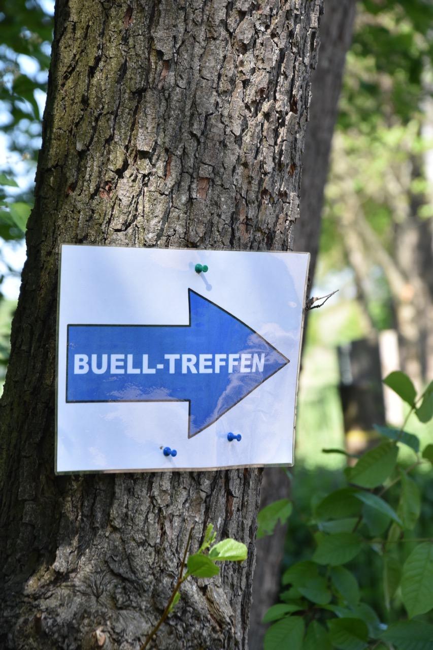 Ingang van het Buell treffen