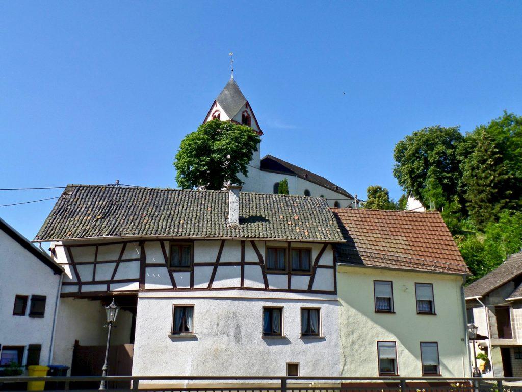 Duitse vakwerk huizen