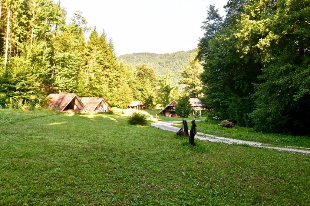 Campings in Slovenië