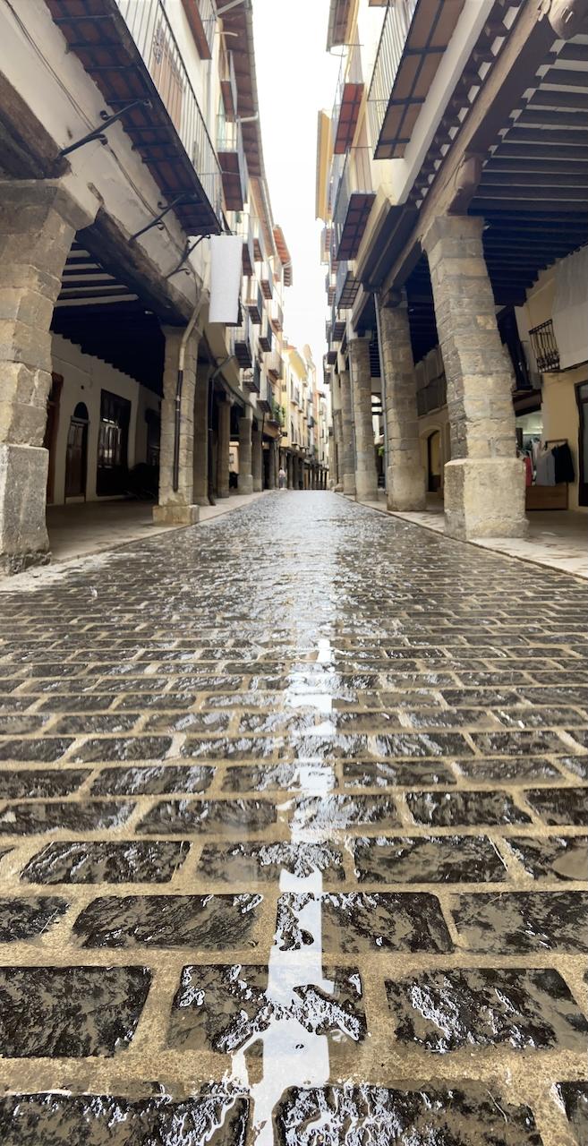 Straatje in Morella